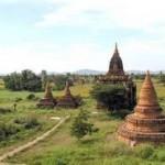 Дорога к горе Попа (Бирма)